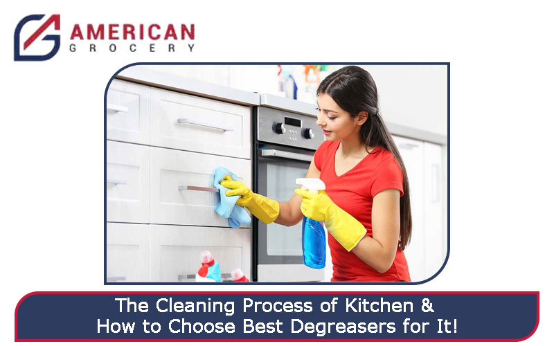 Cleaning Process of Kitchen